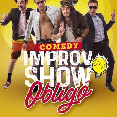 Spectacolul de improvizație Improvisation Show cu Trupa Obligo