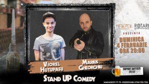 Stand Up Comedy cu Viorel Huțupașu și Marius Gheorghiu, la The Temple Social Pub