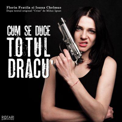 Piesa de Teatru Cum se duce totul dracu', după textul original Crize de Mihai Ignat, cu Ioana Chelmuș și Florin Frățilă