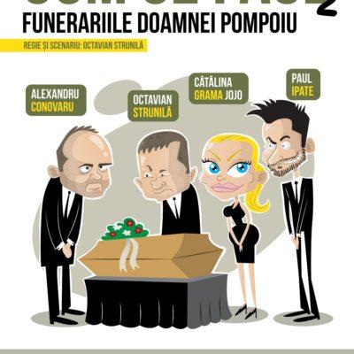 Piesa de Teatru Cum se face partea a II-a în regia lui Octavian Strunilă, cu Paul Ipate, Cătălina Grama, Alexandru Conovaru și Octavian Strunilă