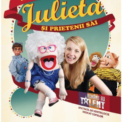 Spectacol pentru copii Aventuri cu bunicuța Julieta și prietenii săi, cu Crina Zvobodă