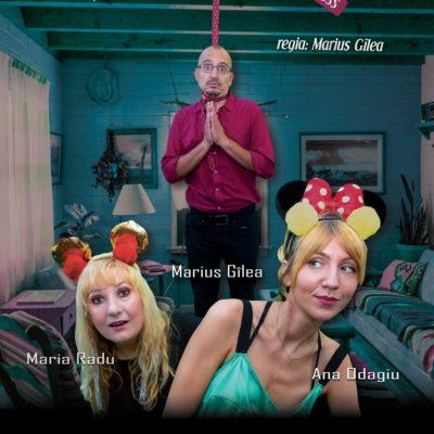 Piesa de Teatru Soț de vânzare după Mihail Zadornov, în regia lui Marius Gîlea, cu Ana Odagiu, Marius Gîlea și Maria Radu
