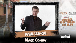 Spectacol de Magie cu Paul Lungu, la The Temple Social Pub