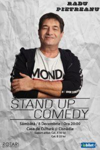 Spectacol de Stand Up Comedy cu Radu Pietreanu, la Casa de Cultură din Cisnădie