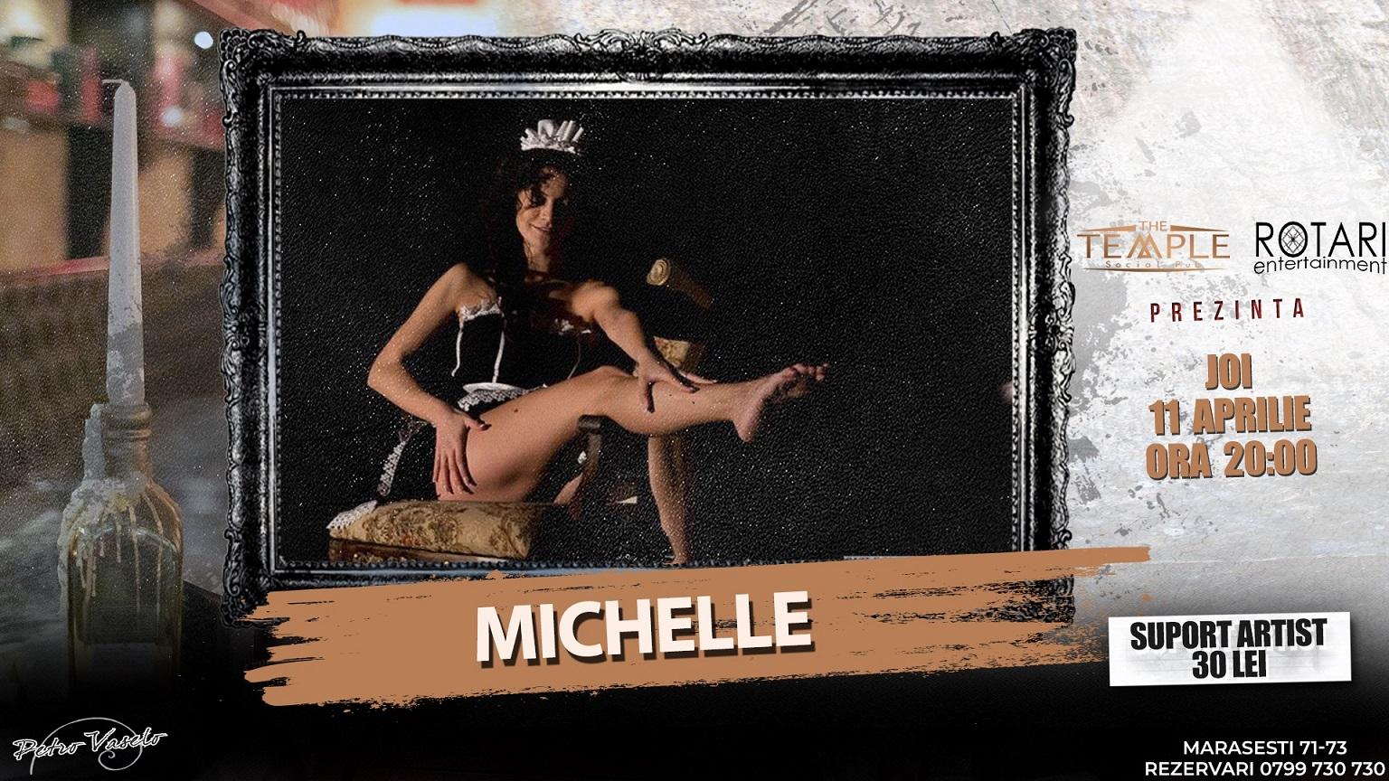 Spectacolul de Teatru și Dans One woman show cu Michelle, la The Temple Social Pub