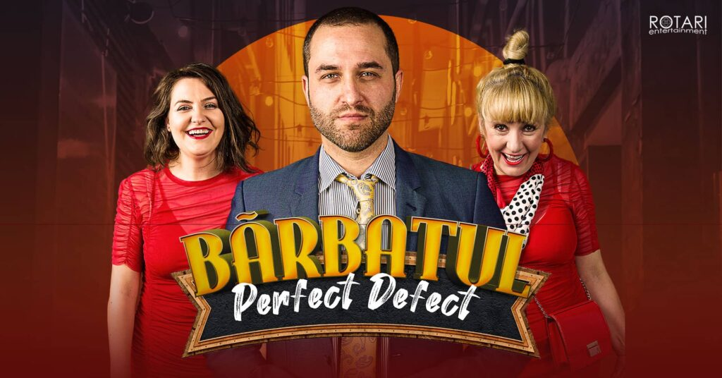 Bărbatul Perfect Defect, Cu Maria Radu, Oleg Apostol și Luminița Bucur, Miercuri 17 Martie La The Temple Social Pub Landscape