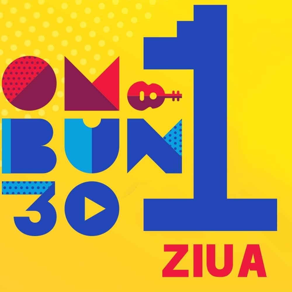 Festival OM BUN 30 Bilet Ziua 1